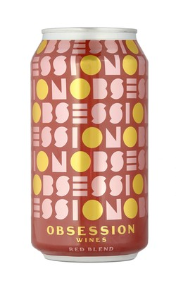 Obsession Red Blend - 375 mL Can