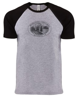 Men's Tee - Vineyard - Black + Heather